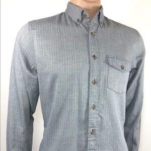 J.CREW Men's Shirt SZ S Classic Fit Long Sleeve